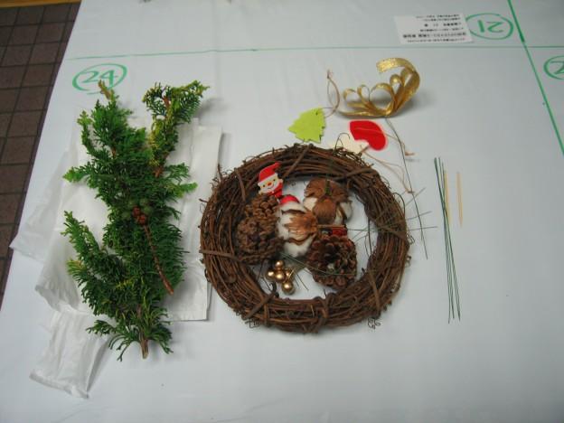 クリスマスリース教室 008